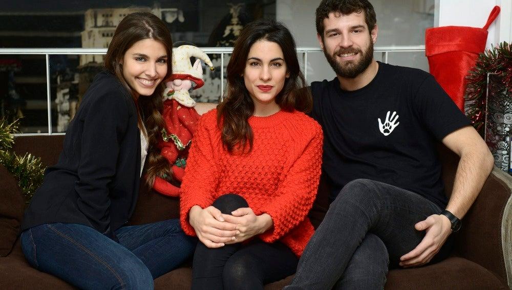 Así son las Navidades de Francisco Ortiz, Fariba Sheikhan y Aída Flix