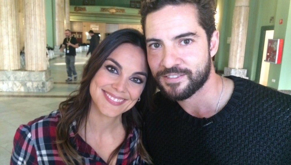 Mónica Carrillo y David Bisbal