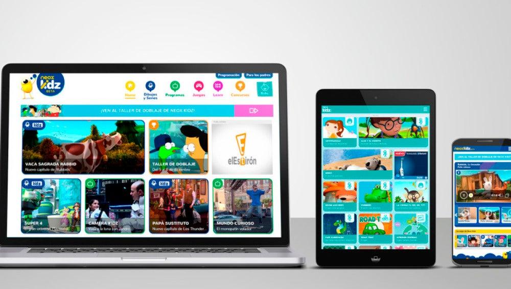 ¡Nueva App de Neox kidz!