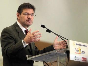 Rafel Catalá, ministro de Justicia