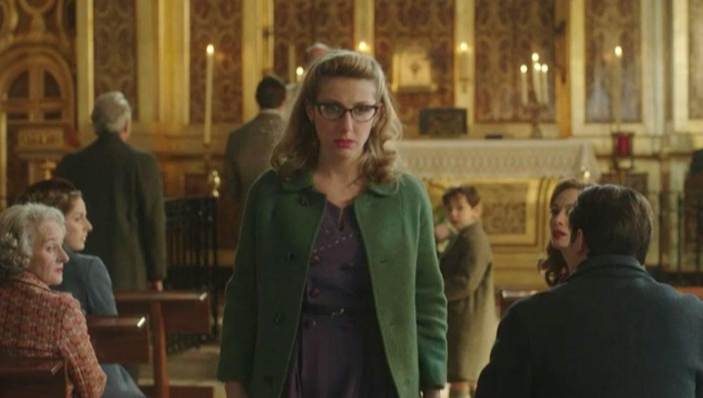 Rita se marcha de la boda de Pedro y Rosamari