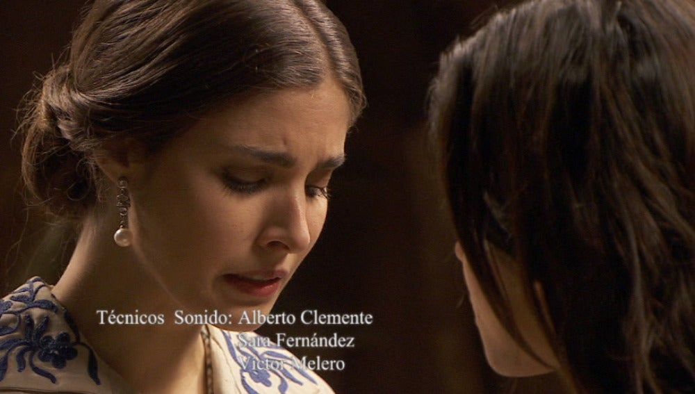 Amalia aparenta preocupación por la desparición de su padre