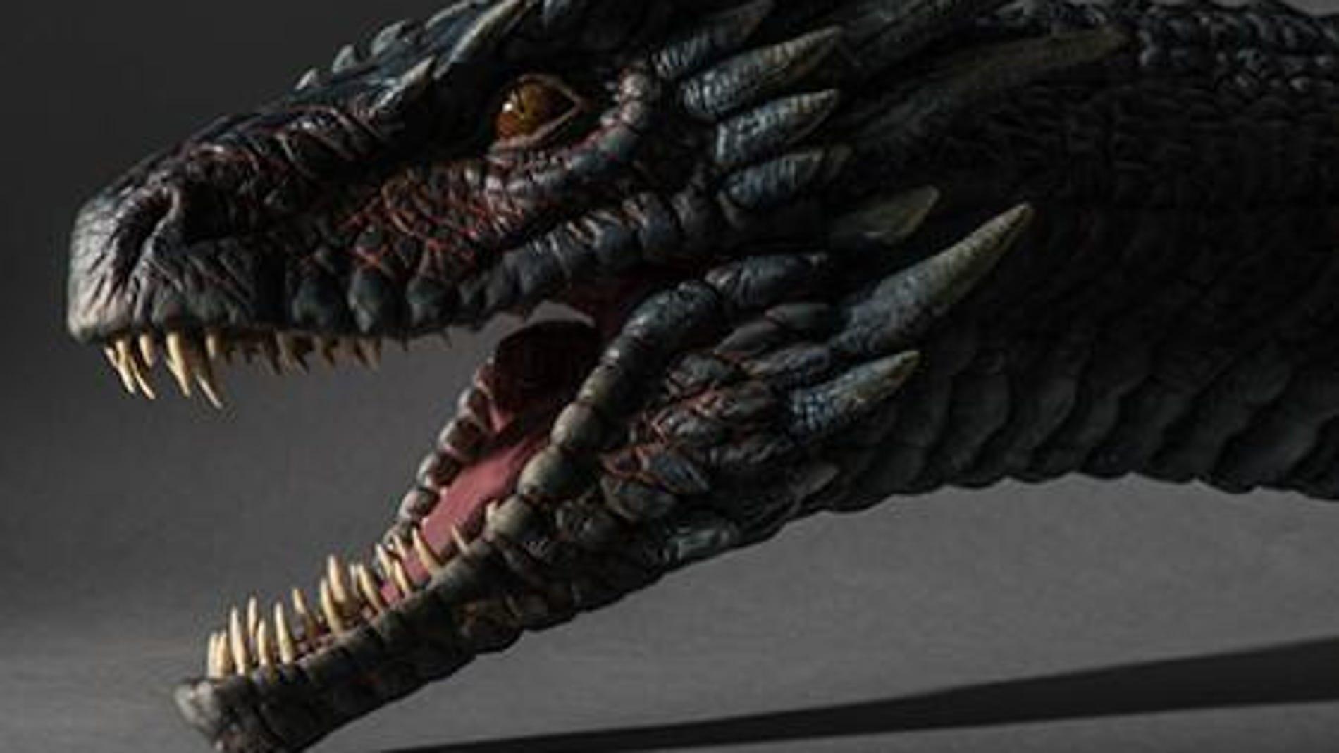 Drogon, uno de los dragones de la Khaleesi