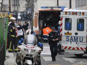 Dispositivo en París tras el atentado contra Charlie Hebdo