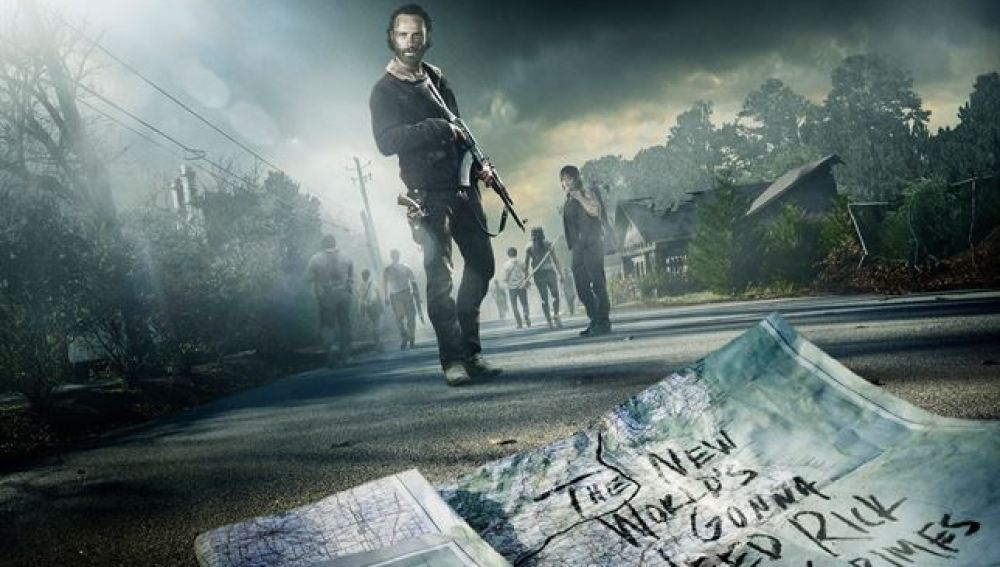 Nuevo cartel de 'The Walking dead'
