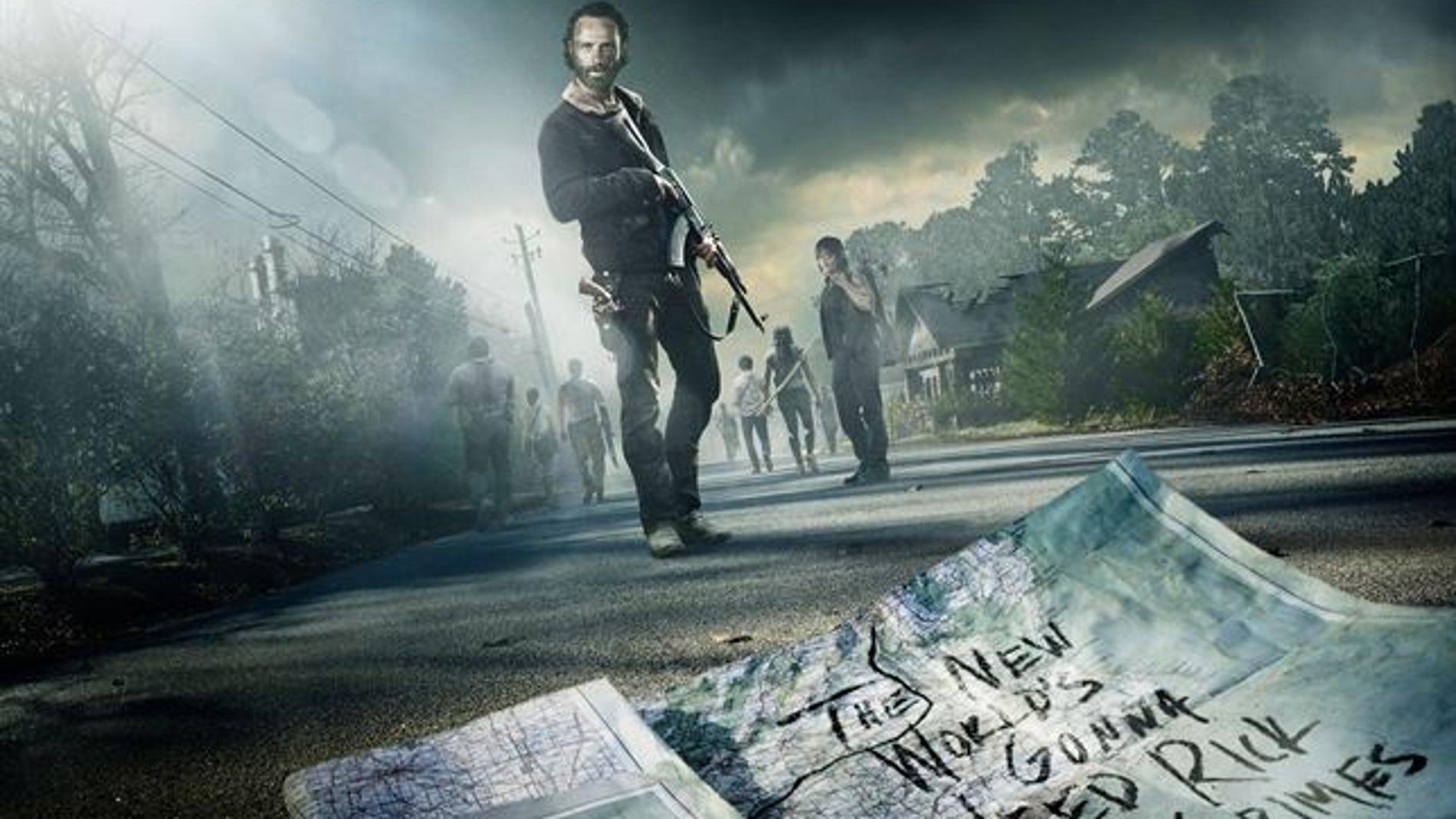 Nuevo cartel de 'The Walking dead'