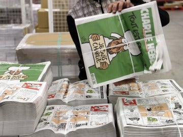 Tirada histórica del nuevo número del Charlie Hebdo