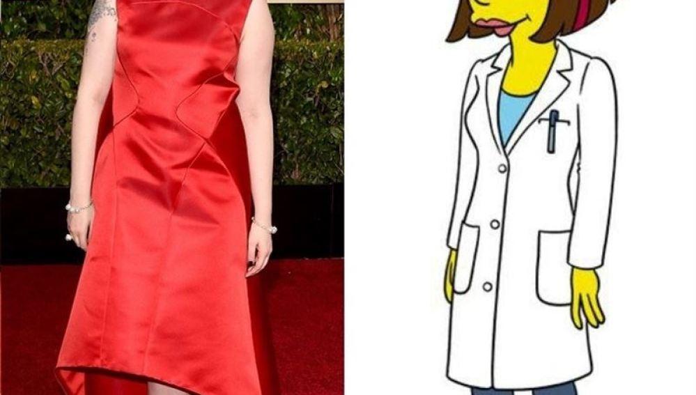 Lena Dunham visitará Springfield