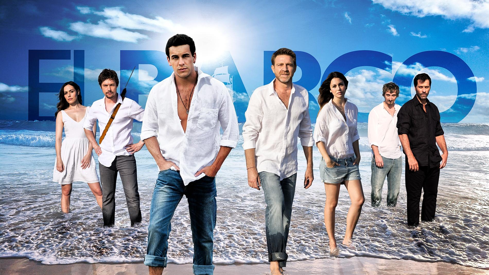 El elenco de 'El Barco'
