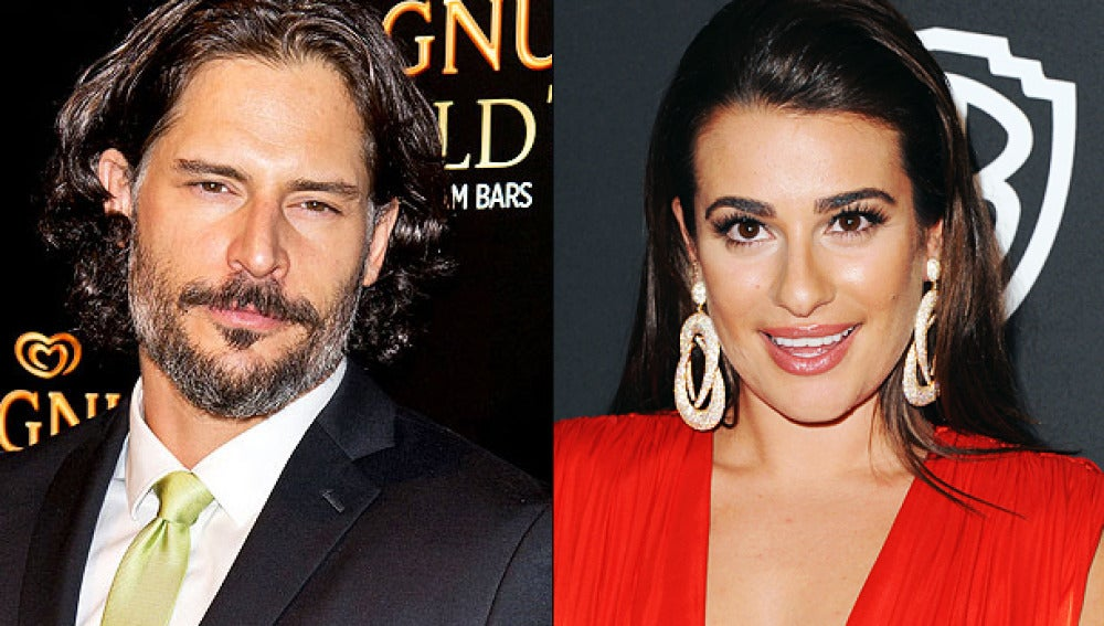 Joe Manganiello y Lea Michelle