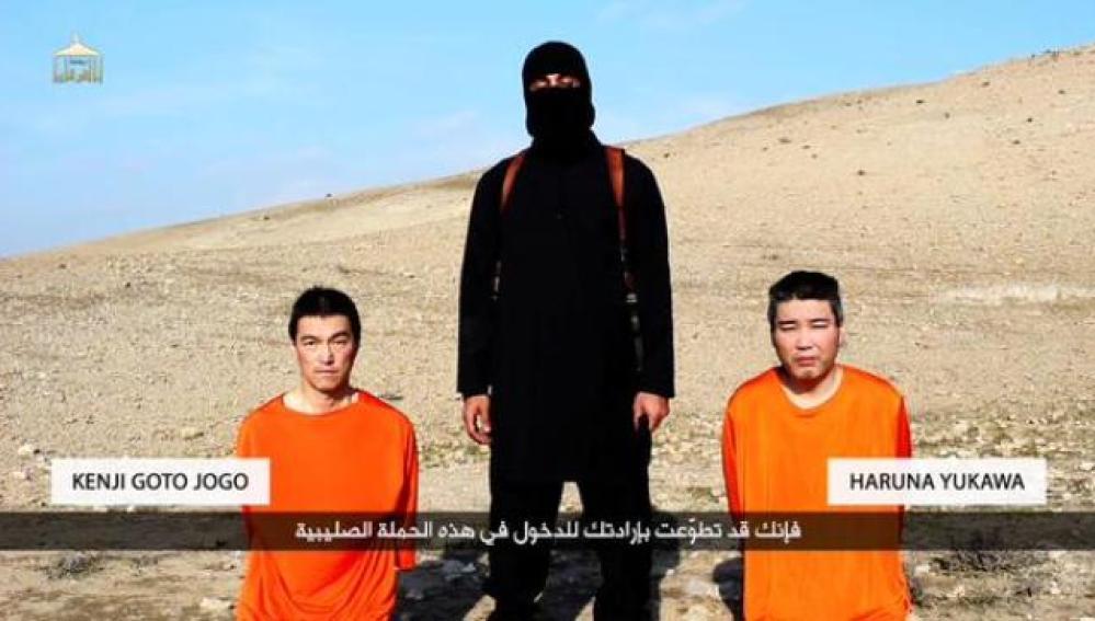 Estado Islámico amenaza con asesinar a dos japoneses