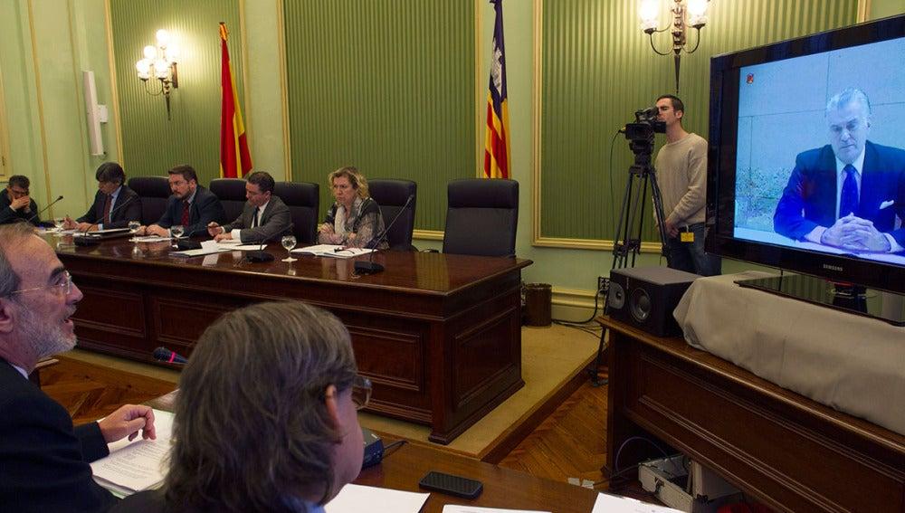 Videoconferenca con Luis Bárcenas