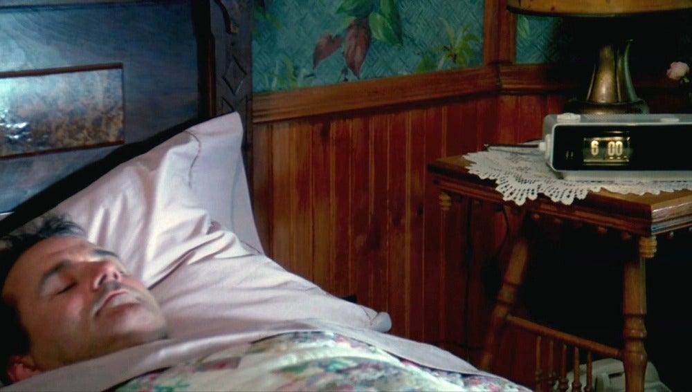 Bill Murray en una escena de 'El día de la marmota'