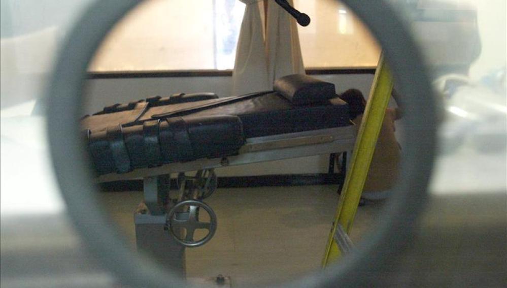 Camilla utilizada para ejecuciones en un penal de EEUU.