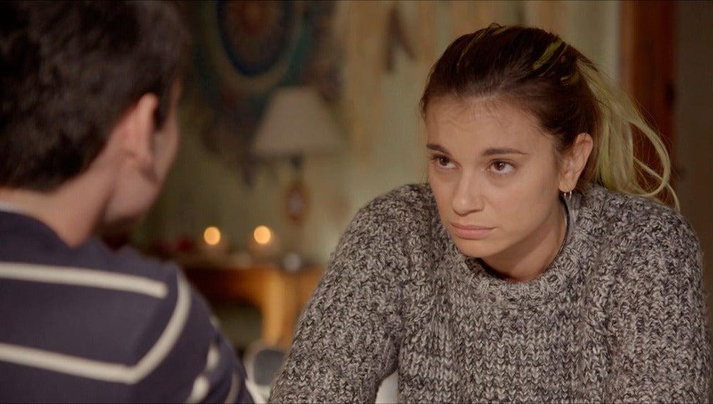 Eva alcara el malentendido con Pedro