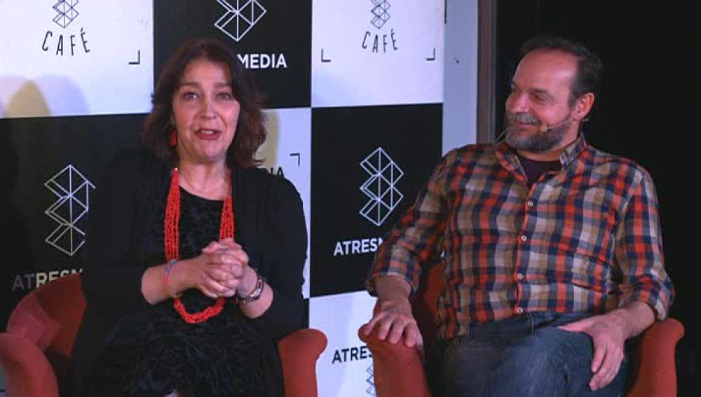 María Bouzas y Ramón Ibarra
