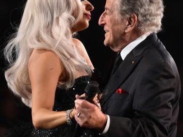 Lady Gaga y Tony Bennett hasta bailaron juntos