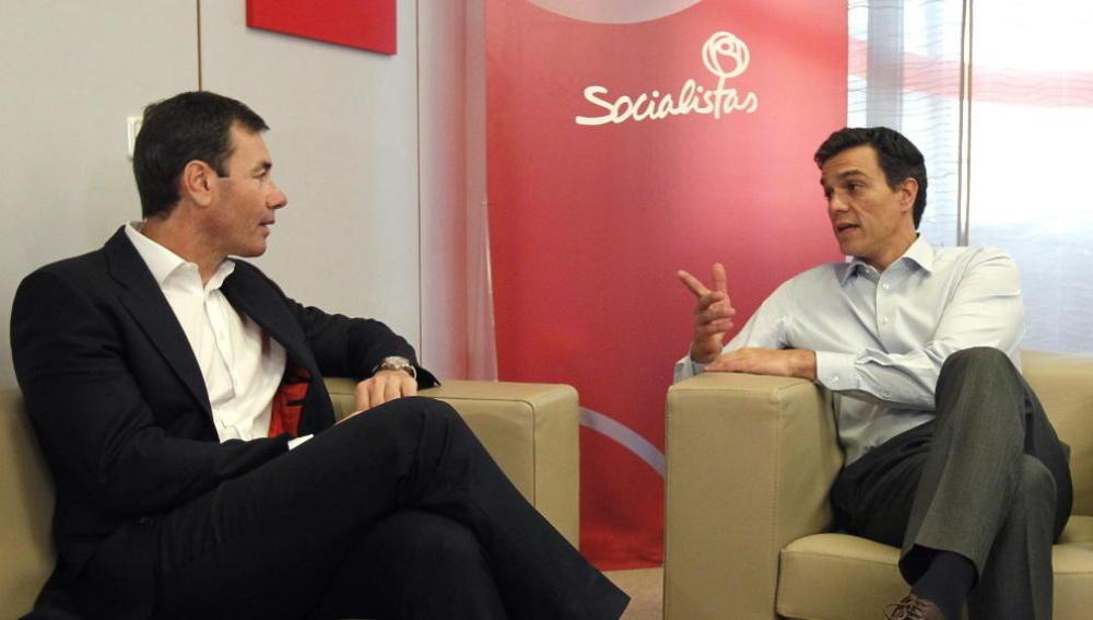 Tomás Gómez y Pedro Sánchez