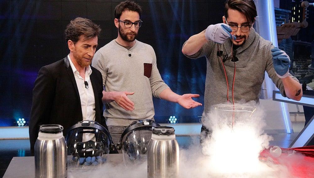 Pablo Motos, Dani Rovira y Marron en El Hormiguero 3.0