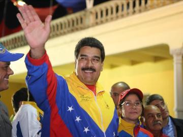 Nicolás Maduro en una imagen cedida por el Palacio de Miraflores.