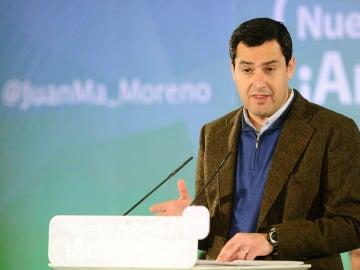 Juanma Moreno, candidato del PP a la Junta de Andalucía