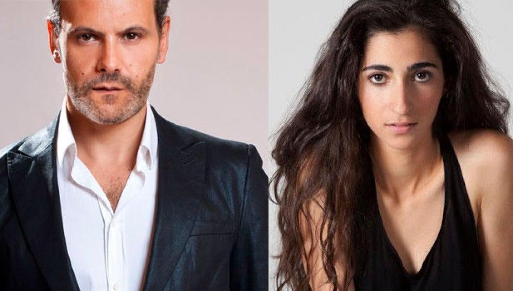 Roberto Enríquez y Alba Flores