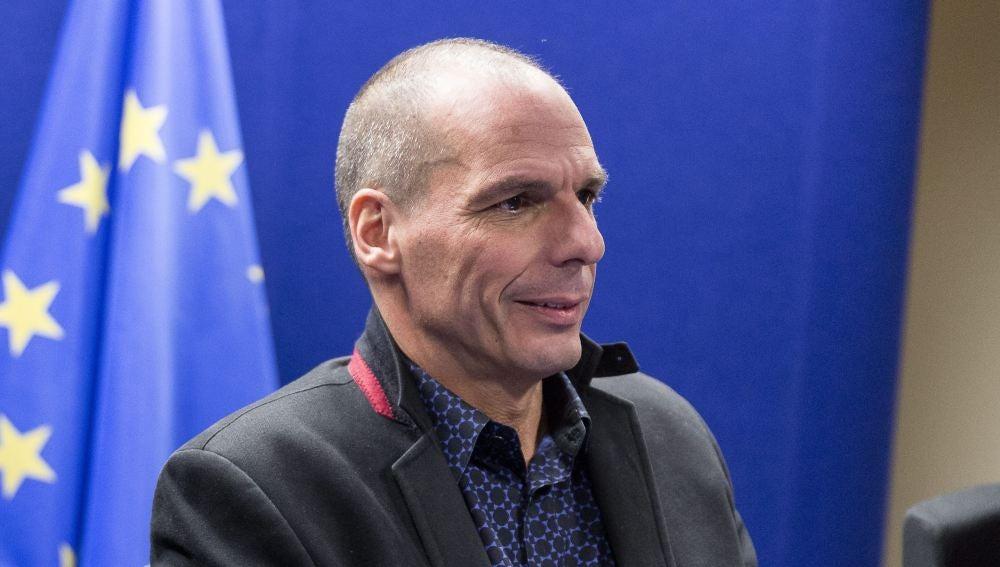 El ministro de Finanzas de Grecia, Yanis Varufakis