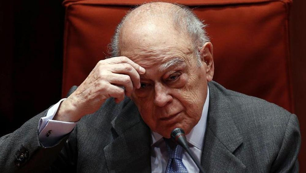 El expresidente catalán Jordi Pujol