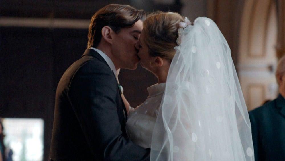 Pedro y Rita se dan el 'Sí quiero'