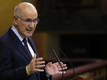 El portavoz de CiU, Josep Antoni Duran i Lleida