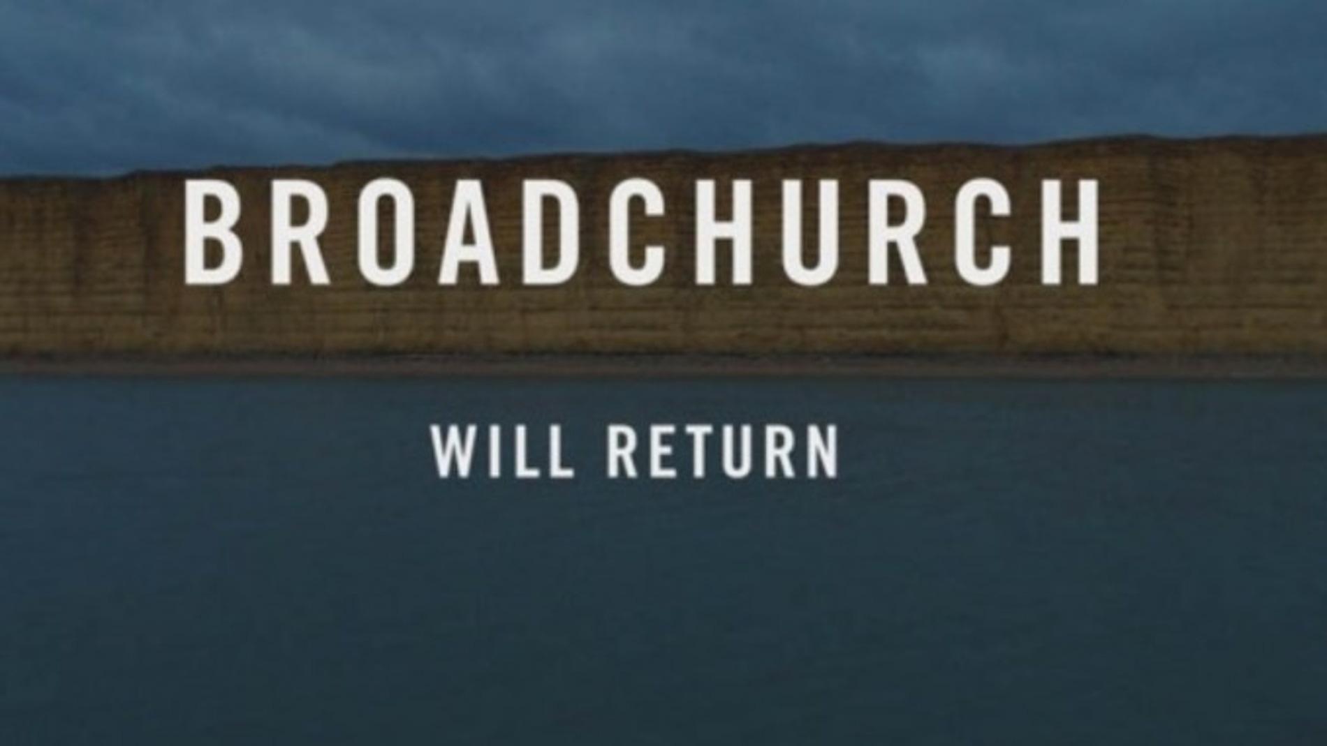 Mensaje que confirma el regreso de 'Broadchurch'