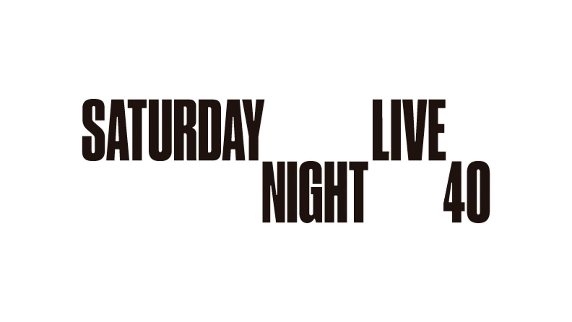 40º aniversario 'Saturday Night Live'
