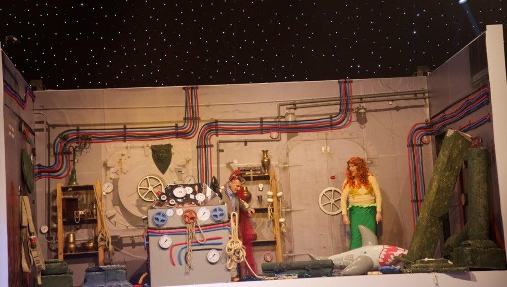 Teatro de pendiente: Por Atlante y por detrás