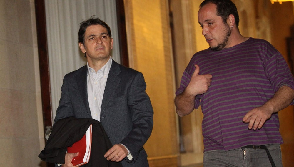 David Fernández y Oriol Pujol