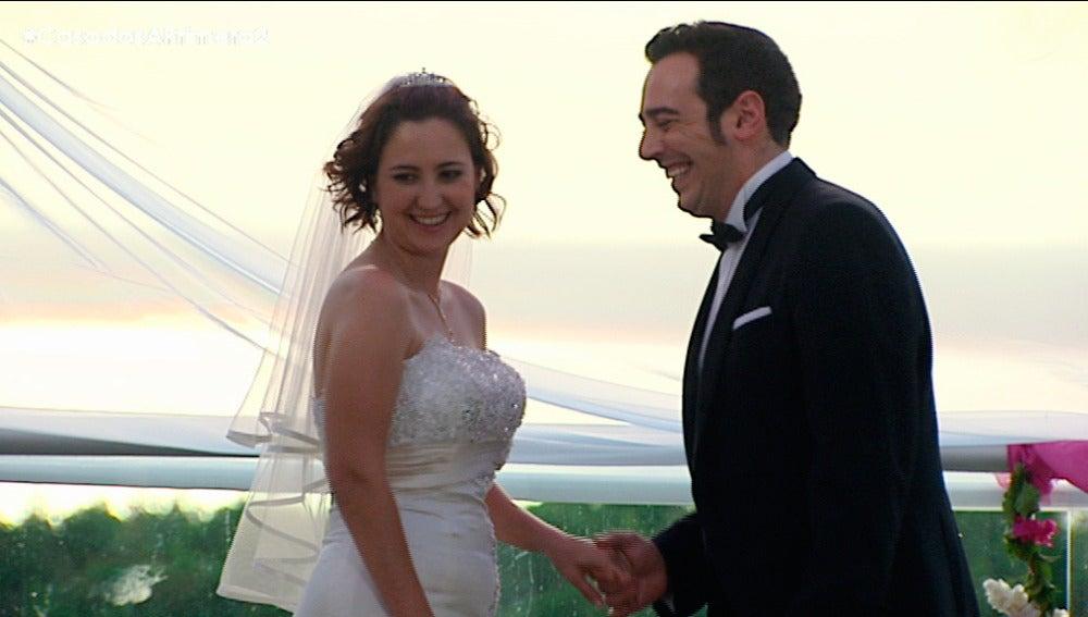 Gloria y Salvador se dan el 'Sí quiero'