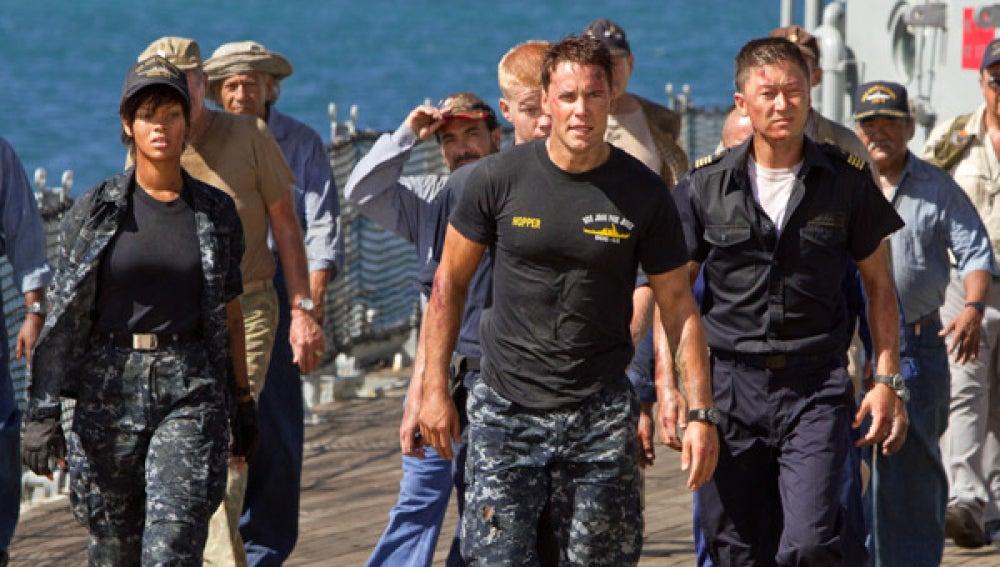 Escena de 'Battleship'