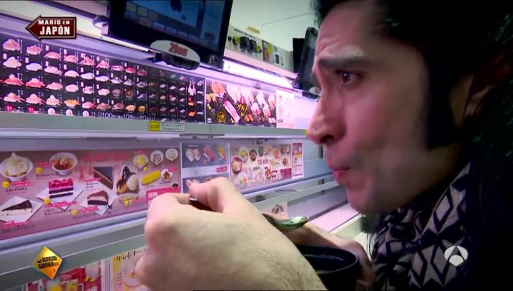 Mario Vaquerizo en Japón