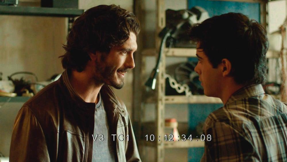 Víctor y Óscar