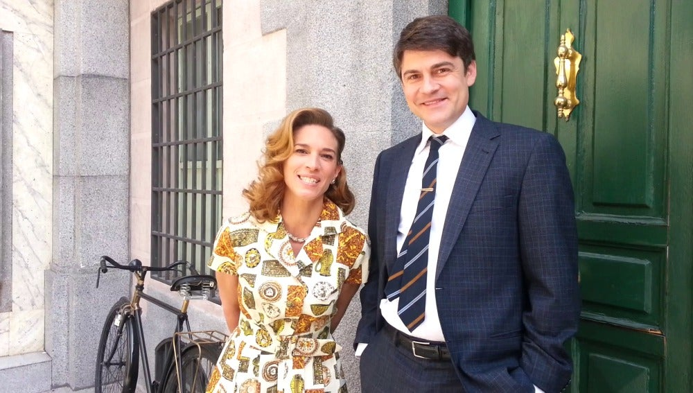Roger Coma y Laura Domínguez