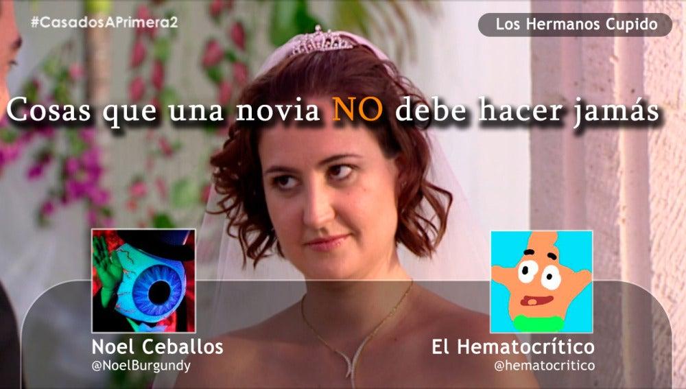 Cosas que no puede hacer una novia en Albacete