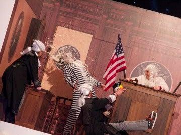Teatro de pendiente: Toston Legal - parte 1
