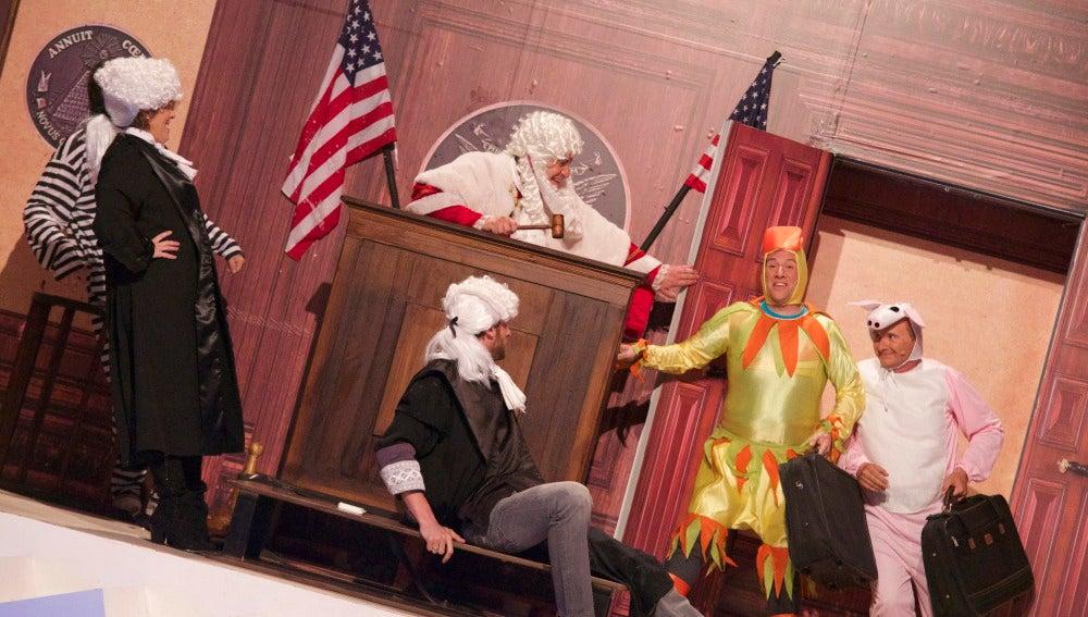 Teatro de pendiente: Toston Legal 2
