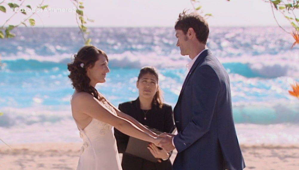 Laura y Mariano se dan el 'Sí quiero'