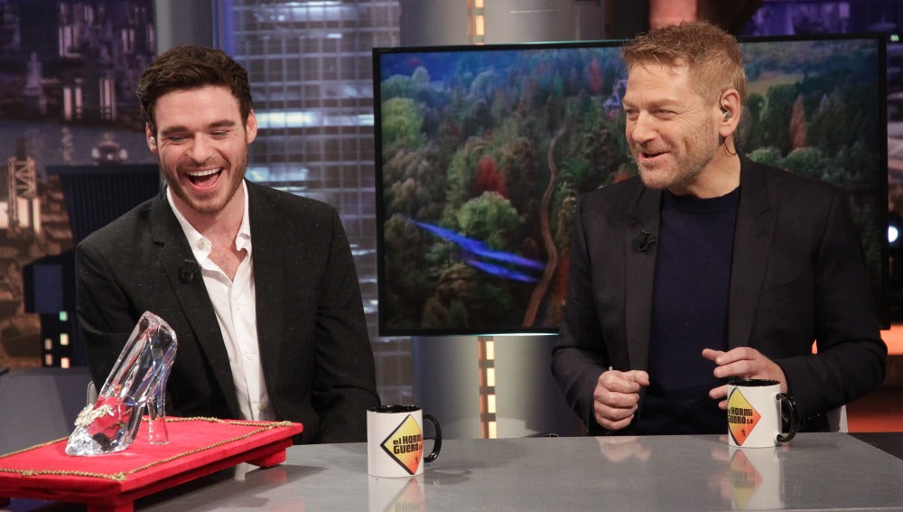 Richard Madden y Kenneth Brannagh en 'El Hormiguero 3.0'