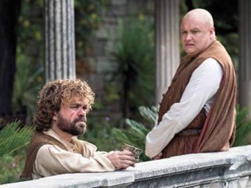 Tyrion Lannister y Varis en la quinta temporada de 'Juego de Tronos'