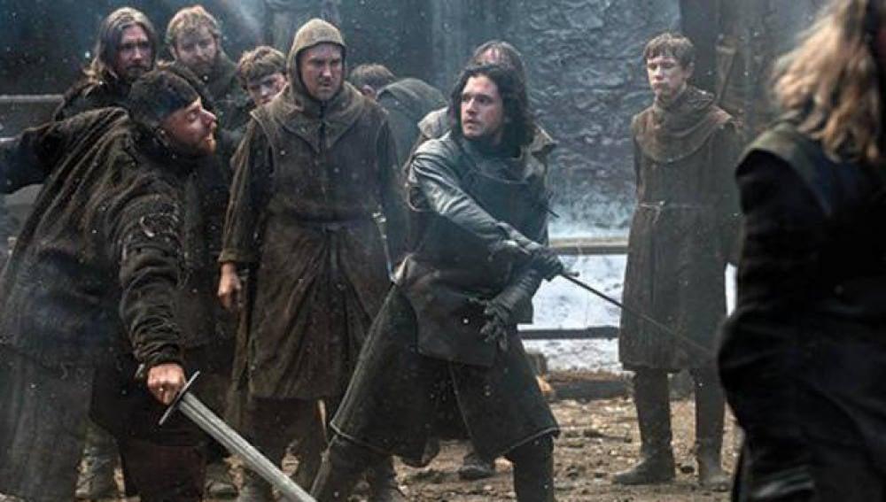 Jon Nieve en la quinta temporada de 'Juego de Tronos'