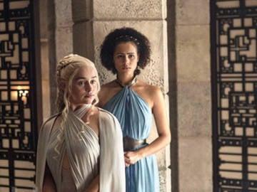 Daenerys en la quinta temporada de 'Juego de Tronos'