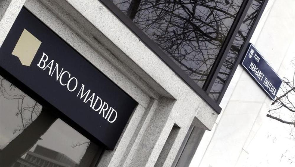 Fachada de Banco Madrid