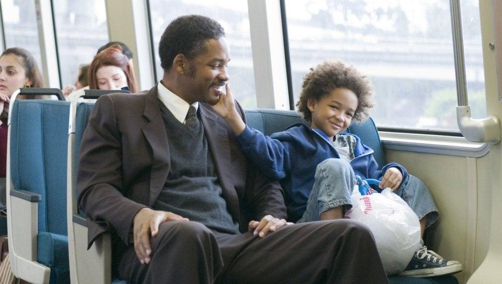 Will Smith ('En busca de la felicidad'), un padre para Jaden Smith en el cine y en la vida real