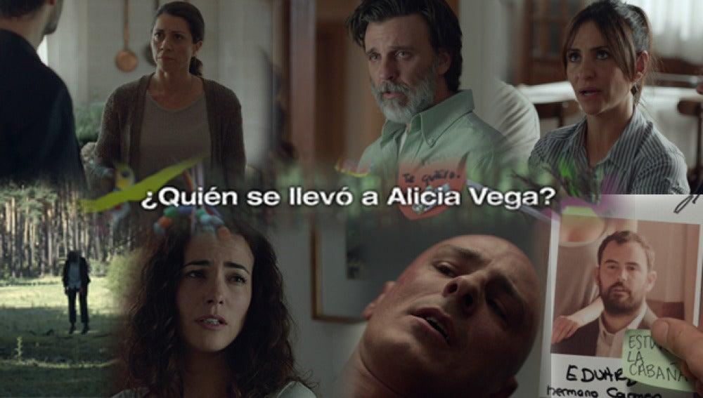 ¿Quién se llevó a Alicia Vega?